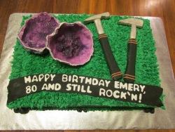 rock hunter cake!