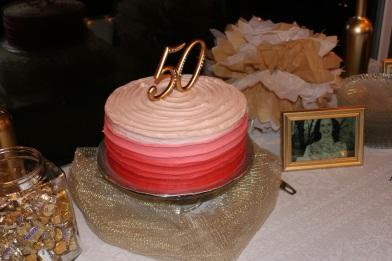 ombre cake!