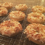 Triple Coconut Doughnuts