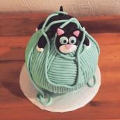 kitty cat cake