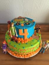 Scooby Doo cake!
