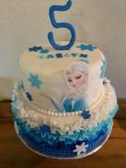 Elsa birthday cake