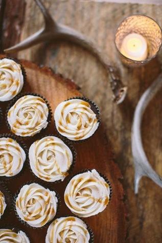 Salted Caramel- wedding cupcakes