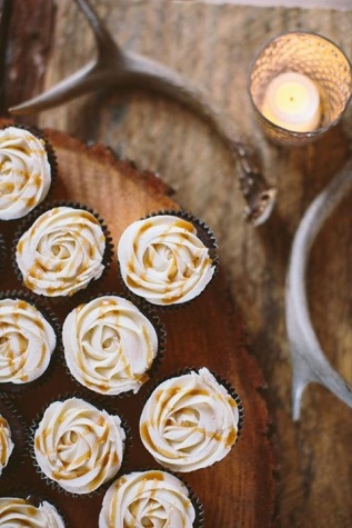 Salted Caramel- wedding cupcakes