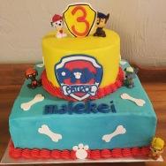 Paw Patrol birthay cake