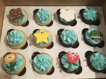 Mario Party Cupcakes