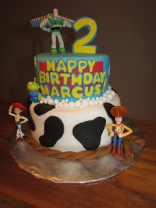 Toy Story birthday cake!