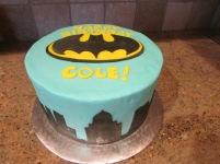 Batman birthday cake!