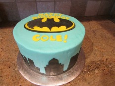 Batman birthday cake!