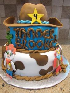 Sherrif Callie birthday cake