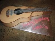 Guitar cake!