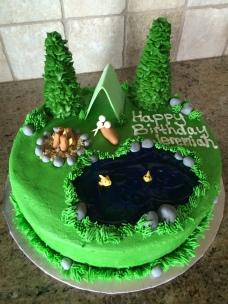 Hobby birthday cake!